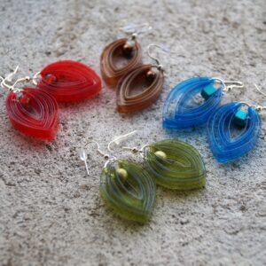 Plastic earring 01