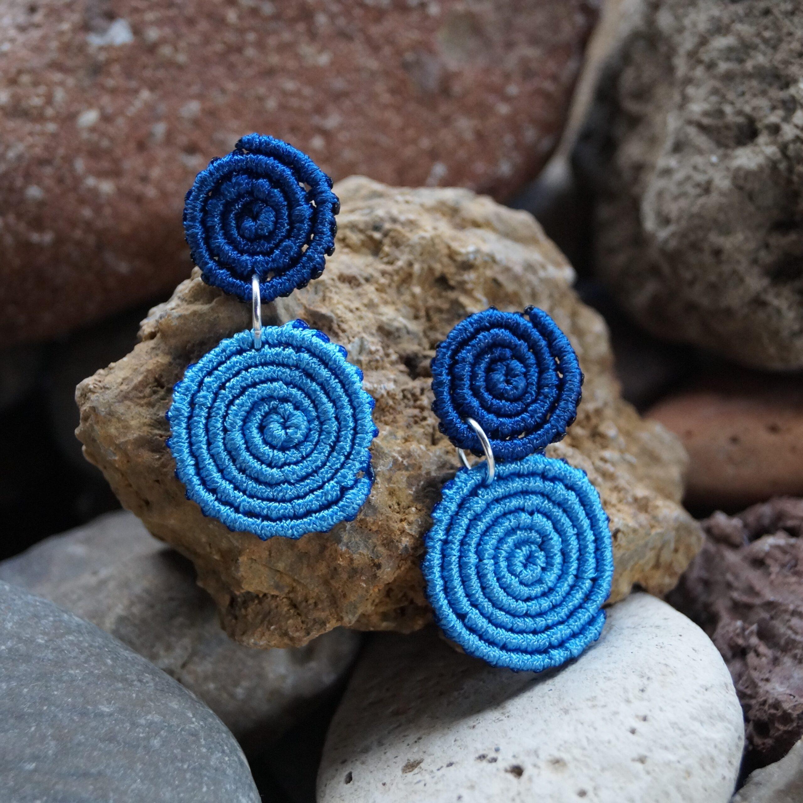 Macrame earring 13